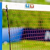 Badminton Netz, 6,1 Meter breit - Standard, 2 Jahre Garantie! [Net World Sports]