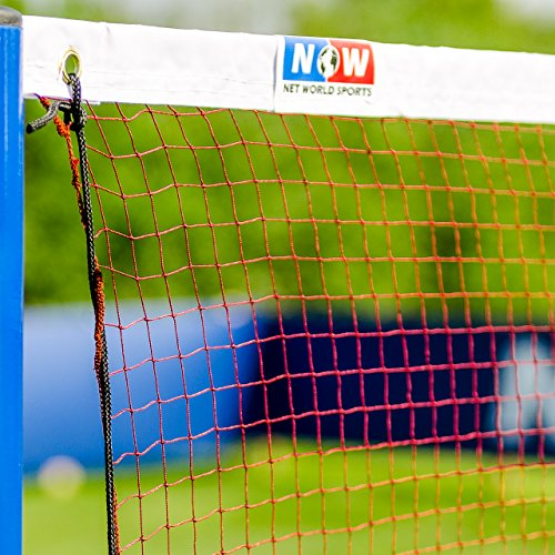 Badminton Net - Regulation 20ft - The Perfect Badminton Net for Amateur & Professional Level [Net World Sports] Test