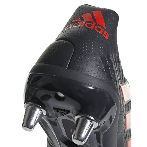 adidas Kakari Elite (SG), Scarpe da Rugby Uomo NOIR