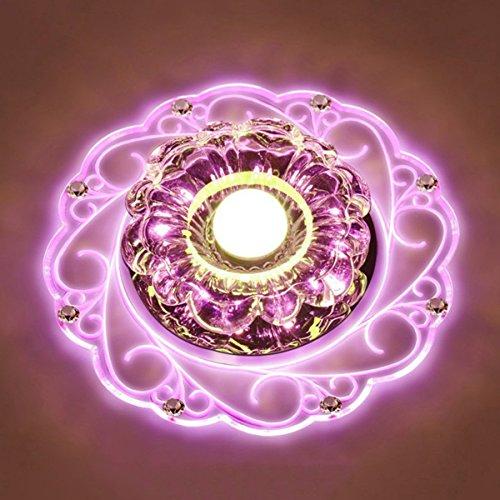 LED Kristall Deckenleuchte Farbwechsel Crystal Decken Pendent Lampen Einbauleuchten Kronleuchter Für Flur Schlafzimmer Arbeitszimmer /...