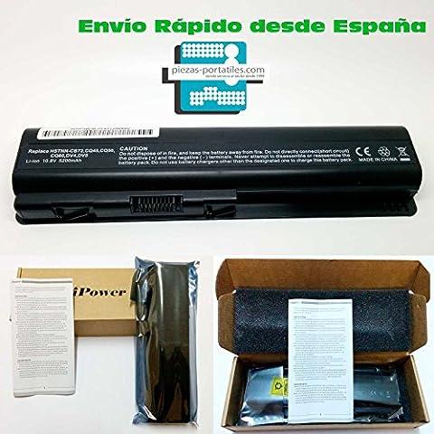 Batería Nueva Compatible para Portátiles HP - Compaq Presario CQ61-230SS Li-Ion 10,8v 5200mAh