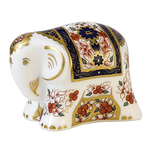 royal-crown-derby-paperweight-baby-imari-elephant