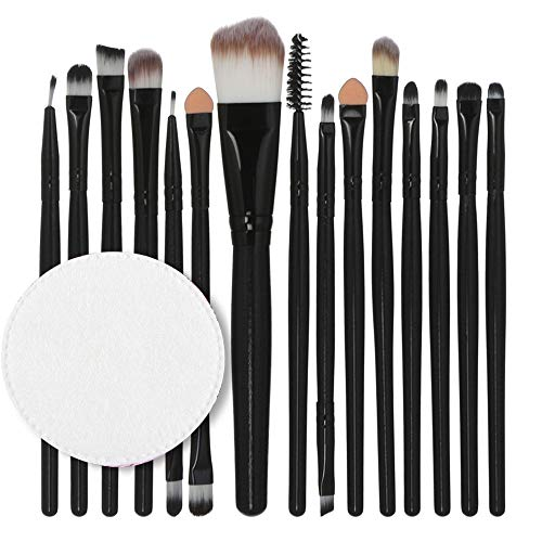 Makeup Brushes,Professionnelle Kits ,15Pcs / Set Ensemble De Pinceaux De Maquillage Outils De Maquillage Trousse De Toilette en Laine Makeup Brushes Brush Beauté Maquillage