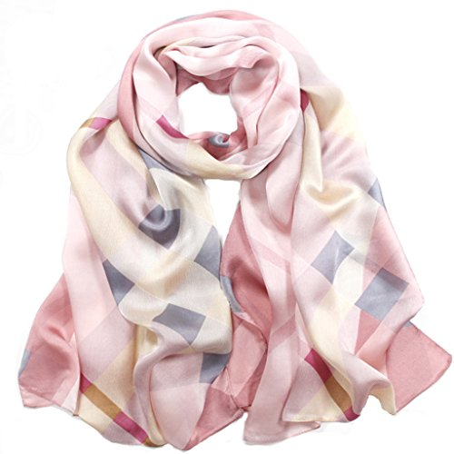 helan-womens-real-natural-silk-175-x-65-cm-long-scarves-pink-plaid