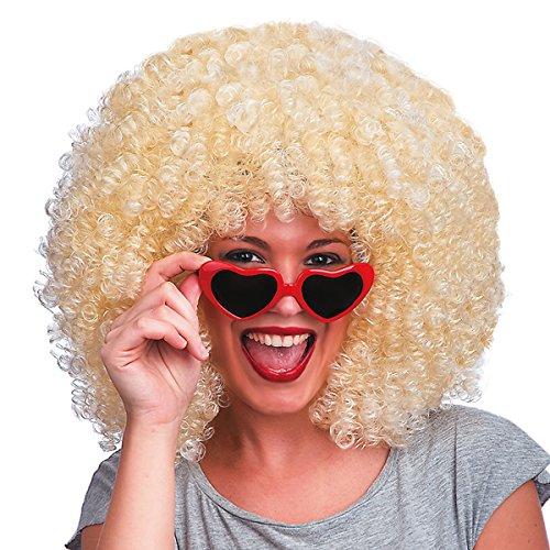Carnival Toys 2298 - Perücke Super Afro, blond