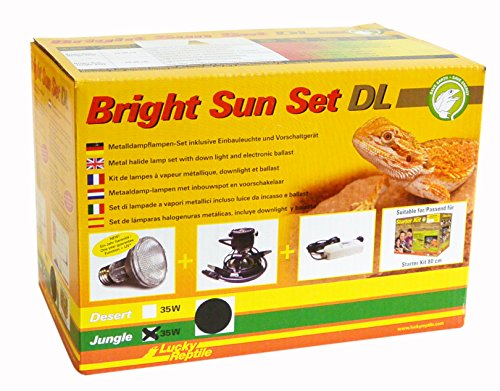 Lucky Reptile BSSDL-J35B Bright Sun Set  DL Jungle 35 W