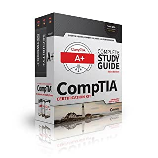 CompTIA Complete Study Guide 3 Book Set, Updated for New A+ Exams