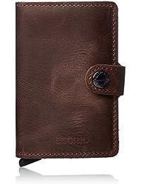 SECRID- Secrid Mini Wallet Vintage Leather with RFID Safe Card case