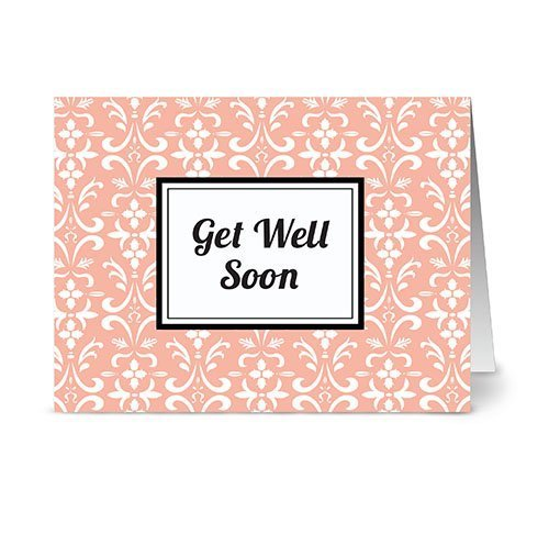 modern-floral-damask-get-well-soon-coral-24-cards-for-749-blank-cards-w-grey-envelopes-included-by-n