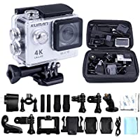 Action Cam 4K WIFI Sports 170 Degree Wide Angle Waterproof Cam DV Camcorder impermeabile 1080P HD 12MP Kit 2.0