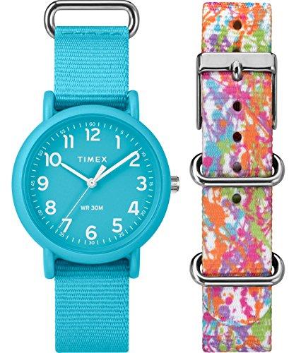 Timex Femme Analogique Classique Quartz Montre avec Bracelet en Nylon TWG018300