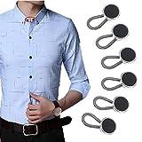 KANGYH Estensione di Bottone Elastica per Jeans da Uomo da Donna Incinta (19mm)