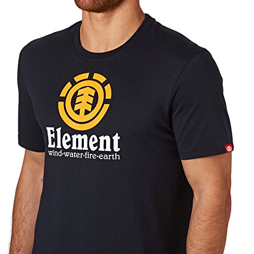Element Vertical T-Shirt eclispe navy