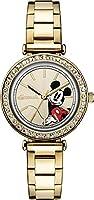 Ingersoll ID00304 - Reloj Cuarzo Disney para Mujer, Color Dorado de Disney Ingersoll