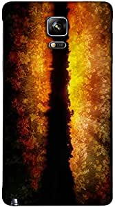 Timpax protective Armor Hard Bumper Back Case Cover. Multicolor printed on 3 Dimensional case with latest & finest graphic design art. Compatible with Samsung Galaxy Note 4 Design No : TDZ-24529