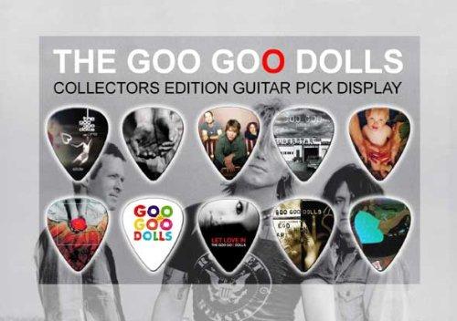 Goo Goo Dolls Guitar Plektron Display (A5) (Doll Display)