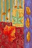 Toland Home Garden Splendid Leaves Deko-Fahne Herbstblatt Herbstfahne Eichelhaus