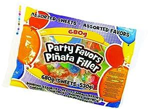 Unique Party Regalitos de Relleno de piñata Dulces para Fiestas, 680 gr (80968) , Modelos/colores Surtidos, 1 Unidad