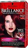 Schwarzkopf, Brillance, Crema Colorante Intensiva Permanente, 902 Rosso Assoluto