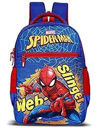 Priority Titan HD Spiderman Web-Slinger Blue Casual Backpack|Kid's School Bag