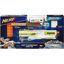 Hasbro Deutschland GmbH HAS65648 Nerf N-Strike Elite Modulus Battlescout Ics-10 Cup and Ball Game