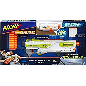 Hasbro Deutschland GmbH HAS65648 Nerf N-Strike Elite Modulus Battlescout Ics-10 Cup and Ball Game