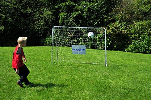 Hudora Fußballtor Trainer mit Torwand - 4