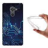 WoowCase Vodafone Smart Platinum 7 Hülle, Handyhülle Silikon für [ Vodafone Smart Platinum 7 ] R&gang Handytasche Handy Cover Case Schutzhülle Flexible TPU - Transparent