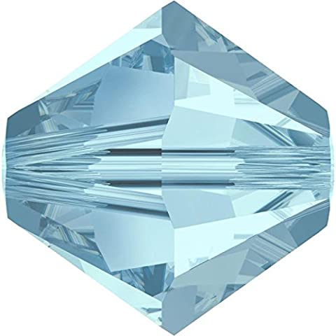 SWAROVSKI Crystal Xilion Bicones/Beads *5328 *6mm *AQUAMARINE *Pack of 10