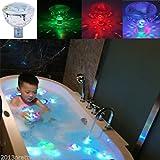 GOESWELL Bunte LED Unterwasserbeleuchtung Pool Licht Kreative Baby-Dusche Licht \ Aquarienbeleuchtung (Projektor-Lampe)