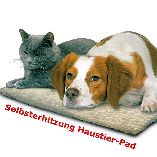 BZLine Hund Selbst Heizung Pad Pet Erwärmung Kissen Bett für Medium Large Hunde und Katzen Spiegelt Haustiere Eigenen Thermische Hundekatze Haustier Bett Thermal Washable Keine Heizdecke erforderlich - Pet-erwärmung Pad