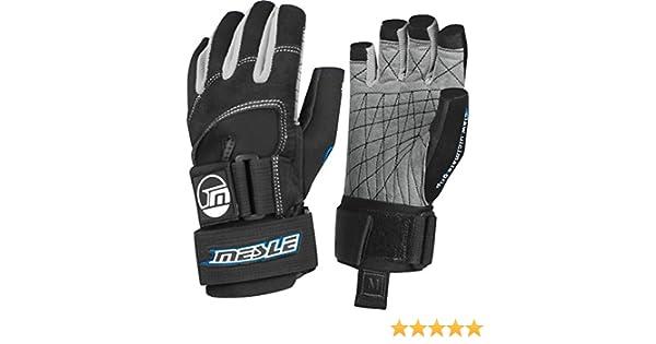 Bootsport Wakeboard/Wasserski-Handschuhe Größe S, schwarz/blau