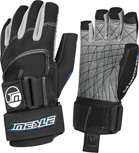 MESLE Handschuhe Ultimate Grip 3/4 blk-blu, Wakeboard- und Wasserskihandschuhe, Größen:XS