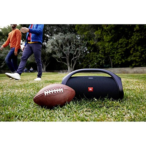 JBL Boom Box Most-Powerful Portable Speaker with 20000MAH Battery Built-In Power Bank (Black)