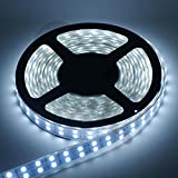 5M 12V Waterproof SMD LED Flexible Strip 60 LED/M White :- 1 roll