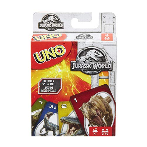 Mattel Games UNO Jurassic world card game (Mattel FLK66)