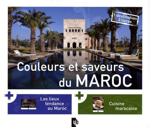Couleurs et saveurs du Maroc : Coffret en 3 volumes