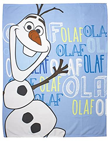 character world Disney Frozen Olaf Fleece Blanket