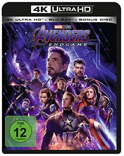 Marvel's The Avengers - Endgame  (4K Ultra HD) (+ Blu-ray 2D + Bonus-Disc)