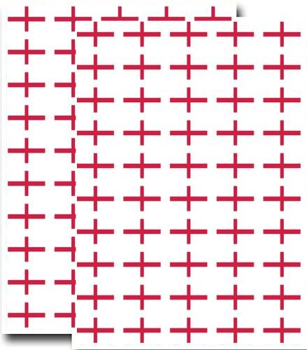 supertogether-big-value-100-pack-st-georges-cross-england-flag-stickers-31mm-x-20mm-dimensions-self-