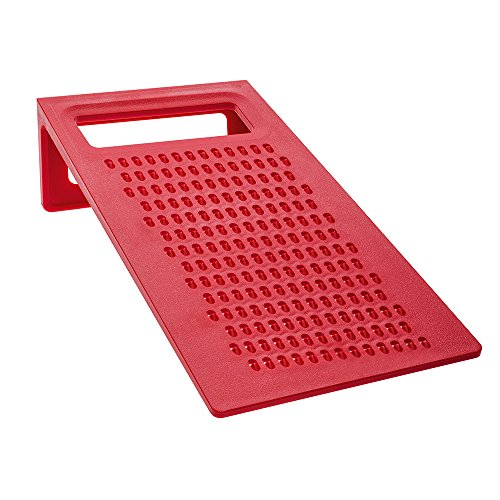 Koziol Kant Ergonomic Grater, X-Wide, Red