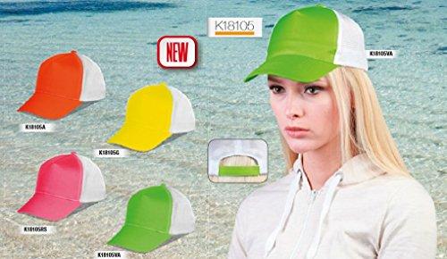 stock-10-pezzi-cappello-cappellino-trucker-mesh-unisex-fluo-fluorescente