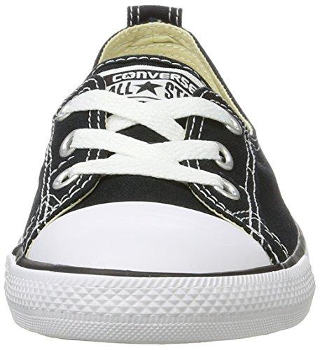 Converse Unisex-Erwachsene All Star Ballet Lace Sneaker, Schwarz (Black), 41 EU - 4