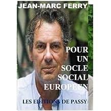 Pour un socle social européen