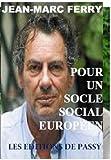 Telecharger Livres Pour un socle social europeen (PDF,EPUB,MOBI) gratuits en Francaise