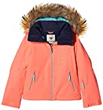 Roxy Mädchen Jk Jet Ski-Snow Jacket 8-16, Emberglow, 10/M