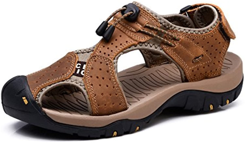Xing Lin Herren Sandalen Der Außenpool Im Sommer Baotou Männer Sandalen Rutschfeste Sommer Atmungsaktiver Sport