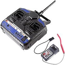 Goolsky RC Mando a Distanca 2.4G 4CH Transmisor & Receptor Control Remoto