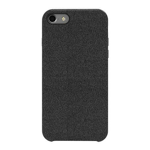 bb face iPhone 8 Hülle, iPhone 7 Hülle,Stoff-Rückseite schützende Telefon-Kasten-Haut-Schutz unterstützt drahtlose Aufladung für Apple iPhone 8 / iPhone 7 4.7 Zoll - Schwarzes -