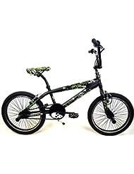 'Fahrrad BMX in Stahl x-marr Kinder/Mädchen 20–Farbe Schwarz